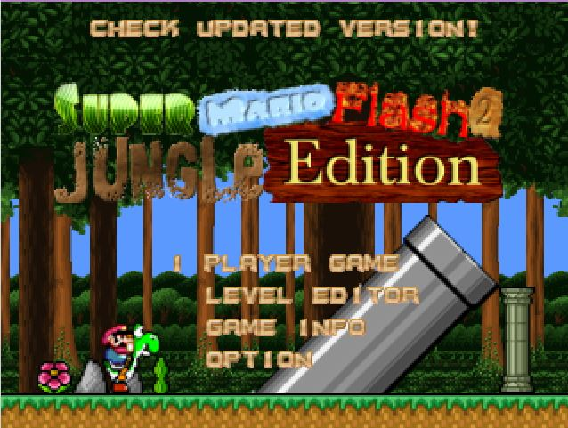 Play Level Created On Super Mario Flash 2 Games